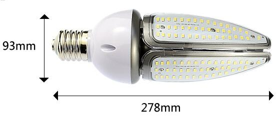 Waterproof Exterior Eco Firendly Led Corn Bulb E27  168pcs Smd Chip