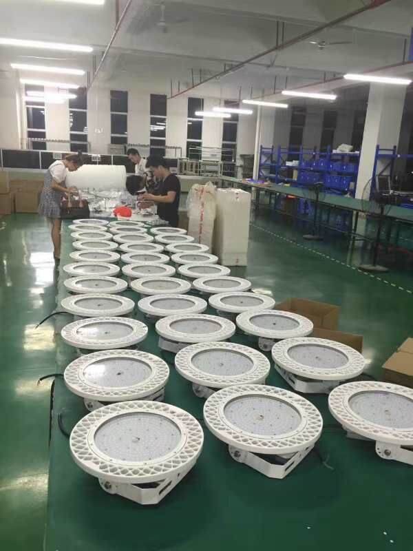 140lm UFO LED High Bay Light  3030 100 Watt For Factory Warehouse