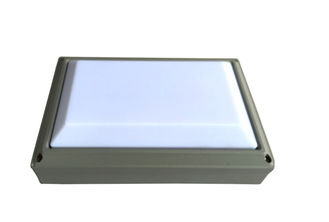 China Square LED Outside Bulkhead Lights for Villa Lighting 2400 Lumen SP - MLCG275A supplier