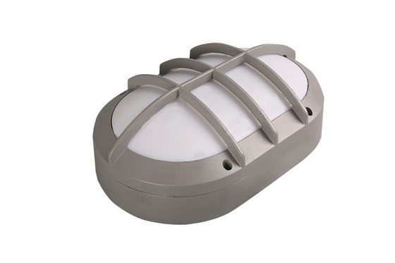 China IP65 LED Wall Fixture  Aluminium Grill Aluminium Grill Bulkhead Wall Light with IK 10 Rate 80 Lm / Watt supplier