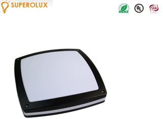 China waterproof 1600 lumen IP65 Outdoor LED Ceiling Light black cover die cast aluminum supplier