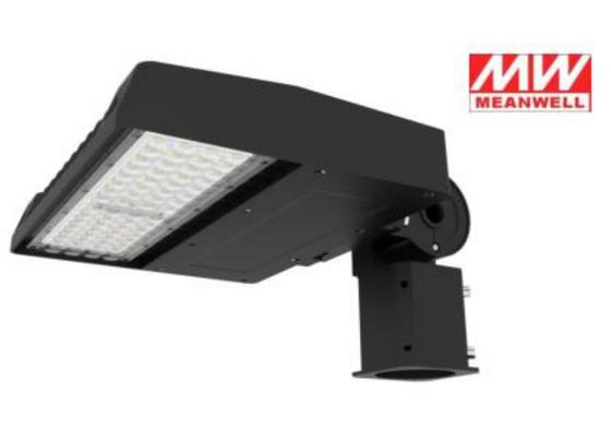 China Waterproof 130lm / Watt Led Parking Lot Lights 75w With Meanwell Driver supplier