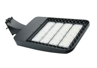 China Commercial Led Parking Lot Light Fixtures , 85-265v Led Graden Light Energy Saving supplier