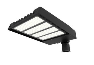 China 100W IP67 14000 Lumen Led Parking Lot Lights Aluminium Housing For Main Road Lighting supplier