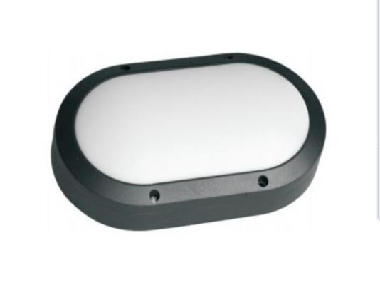 China Wall Mounted 220mm IP65 IK10 10W LED Bulkhead Light With Aluminium Housing supplier