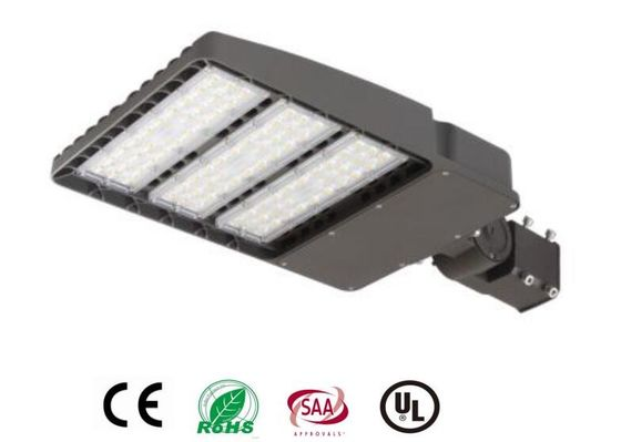 China 200W LED Shoebox Light ETL  Chip , Roadway Car Led Parking Lot Lamps supplier
