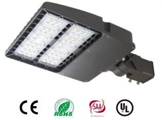 China Chip MW Driver 150w LED Shoebox Light 18000lumen Die Cast Aluminium Housing supplier