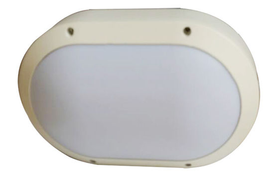 China 85 - 265V IP65 Oval Round Bulkhead Wall Light For Indoor 5000 - 6000K 20W distributor