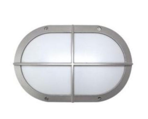 China Grey housing 20w IK10 aluminium bulkhead light damp proof 3 years warranty distributor