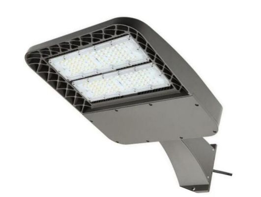 China Cold White 6000k 120lm / Watt Led Car Park Light , Led Pole Lights CE Certified distributor