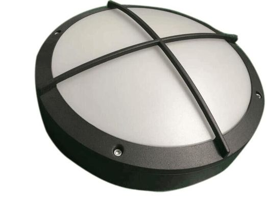 China Motion Sensor Bulkhead Wall Light With Wire Guard CRI>80 Osram Chip 270*270*90mm distributor