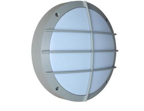 China Grey Housing Led Bulkhead Lamp IP65 1600 Lumen 270*270*90 Mm Steam proof for bathroom spa distributor