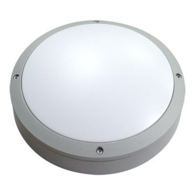 China Grey Led Round Bulkhead Light Die - Cast Aluminum Housing IP65 IK10 Moisture Proof distributor
