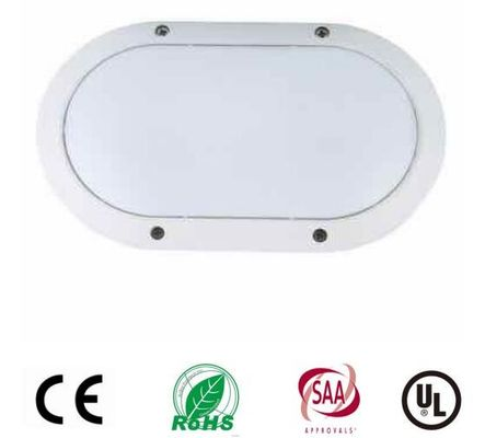 China 10W Oval Led Bulkhead Light Utdoor Ceiling Light Fixtures Aluminum Housing Osram Chip distributor