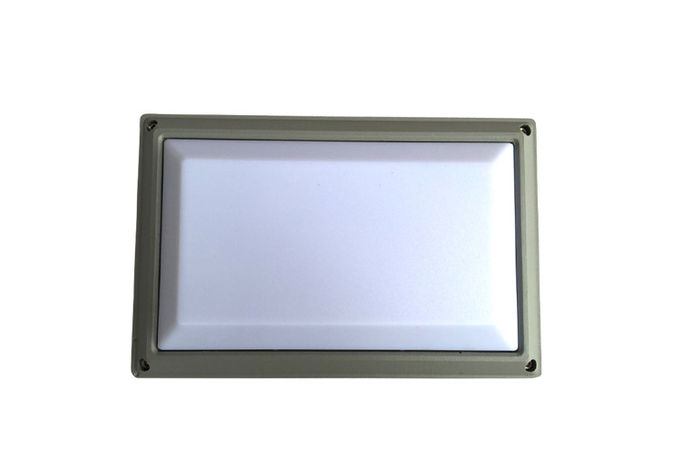 Square / Round / Oval LED Outside Bulkhead Lights IK10 High Lumen Energy saving